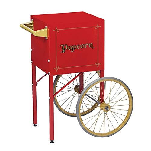 Beach City Wholesalers Fun Pop 8 oz Popcorn Popper Cart   Red   #2408