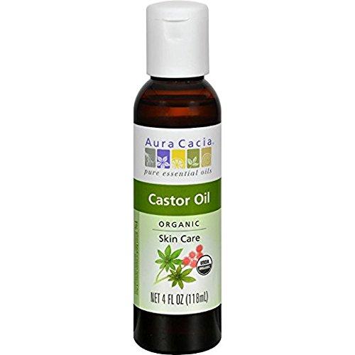 Aura Cacia organic castor oil, 118ml