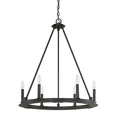 Capital Lighting 4916BI-000 Six Chandelier