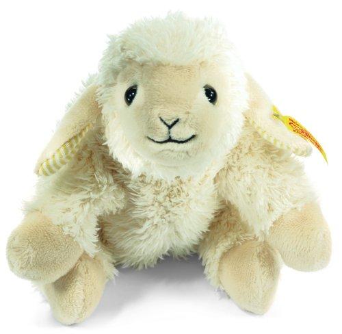 Classic Mohair Steiff Collection - Steiff Little Floppy Linda Lamb, Cream