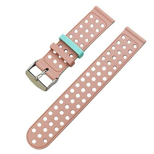 Jewh Silicone Rubber Watch Band for LG G Watch - W100 / R W110 / Urbane
