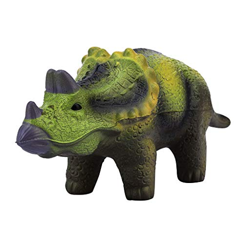 Elaco Soft Triceratops Dinosaur Slow Rising Stress Reliever Toy Kids Children Decompression Toy Gift]()