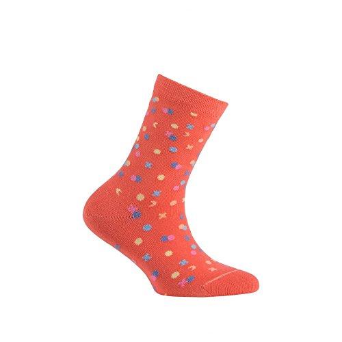 Saumon Achile chaussettes En Coton Mi Modèle Confetti aYUwWqTOYz