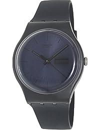 Swatch Men's Originals SUOB702 Black Silicone Quartz Watch