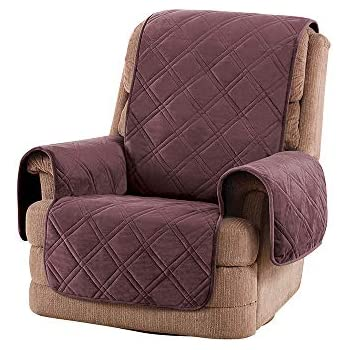 Amazon Com Surefit Triple Protection Recliner Furniture