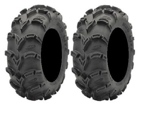 Pair Lite 6ply Tires 27x10 12