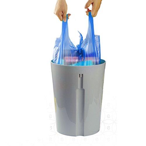 Aosbos Trash Bags With Handletie Bathroom Garbage Bags 4