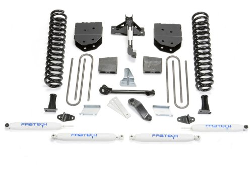 Fabtech K2118 Basic Lift System w/Shocks w/Performance Shocks 6 in. Lift Basic Lift System w/Shocks