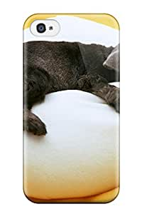 Iphone 4/4s Case Cover Skin : Premium High Quality Dog Case