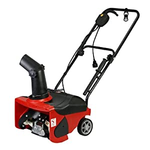 B00A3Z47X8_16″ Electric Snow Thrower – 2 HP 1300W 1700 RPM ETL-Certified – Lightweight, Durable, Easy to Operate
