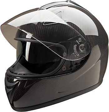 HCI Carbon Fiber Full Face Motorcycle Helmet Medium
