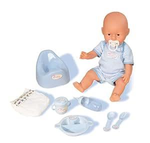 Simba 5035189 New Born Baby - Muñeco bebé recién nacido