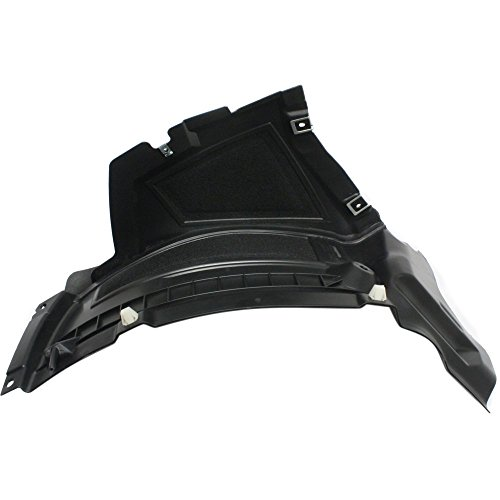 Splash Shield for Audi A6/S6 12-15 FRONT Front Section Air Extension Spoiler Right Side ()
