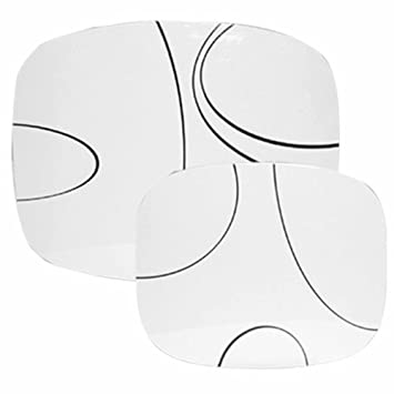 Amazon.com: Corelle Coordinates Counter Mats, Set of 2, Simple ...