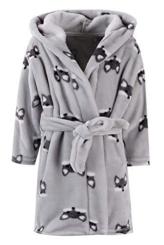 Ameyda Kids Baby Boys Girls Cute Fox Cartoon Plush Robe Fleece Hooded -