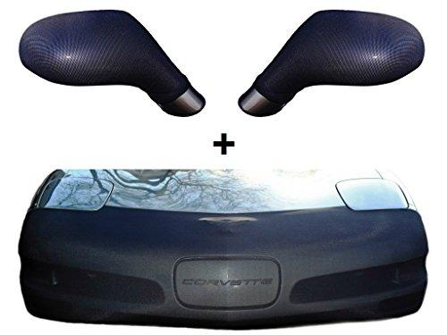 C5 Corvette NoviStretch Front + Mirror Bra High Tech Stretch Mask Combo Fits: All C5 1997 through 2004 (Corvette Clear Bra)