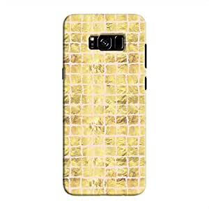 Cover It Up - Gold Pink Break Mosaic Galaxy S8 Hard Case