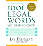 img - for [(1001 Legal Words You Need to Know )] [Author: Feinman] [Apr-2005] book / textbook / text book