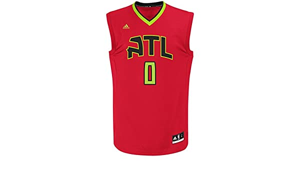 Jeff Teague Atlanta Hawks Adidas NBA Replica - Camiseta, XL: Amazon.es: Deportes y aire libre