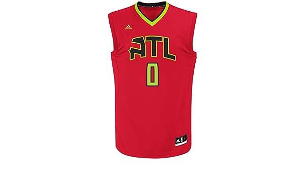 Jeff Teague Atlanta Hawks Adidas NBA Replica - Camiseta, XL: Amazon.es: Deportes y aire libre