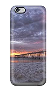 Fashion Design Hard Case Cover Locations Hermosa Beach Protector For Iphone 6 Plus