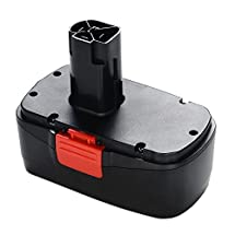 Masione 19.2 volts Replacement Ni-Cad Compact Battery for Craftsman Drill Tool DieHard C3 11375 130279005 Cordless Drill Power Tool