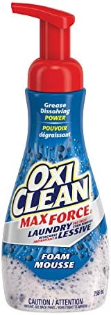 OxiClean MaxForce Foam Pre-Treater Stain Remover, 266-ml