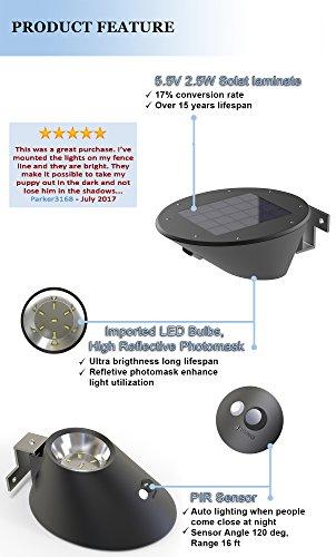 Great Solar Lights Very Bright Motion Sensor Light Can