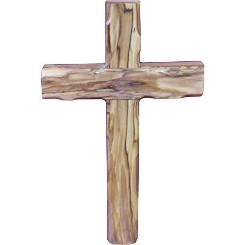 Zuluf Wall Hanging Olive Wood Cross 20cm Olivewood Christian Wall Cross - CRS051 (Olive Wood Wall Cross)