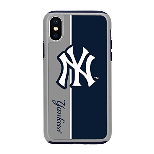 Forever Collectibles iPhone X Dual Hybrid Bold Case - MLB New York Yankees