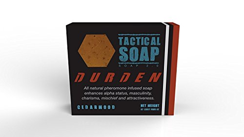 1 Bar of Durden - Natural Soap infused with Powerful Pheromone (Cologne Soap)