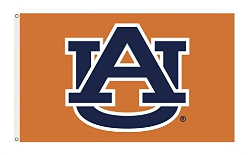 Auburn Tigers College Sports Fan Premium Team Logo 3'x5' Flag Banner