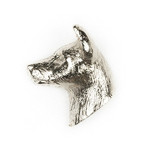 Basenji Ornaments - BASENJI HEAD Made in U.K Artistic Style Dog Clutch Lapel Pin Collection