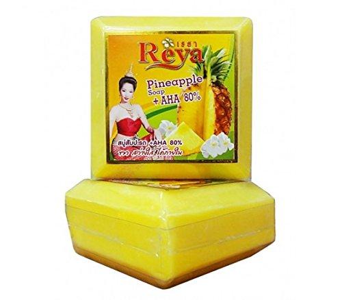Reya Pineapple Soap + AHA 80% Reap Soap Pineapple + AHA 80% (153g.x6 pack)