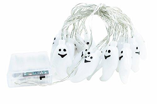 Ghosts String Lights 30 LEDs 10.3 ft Halloween