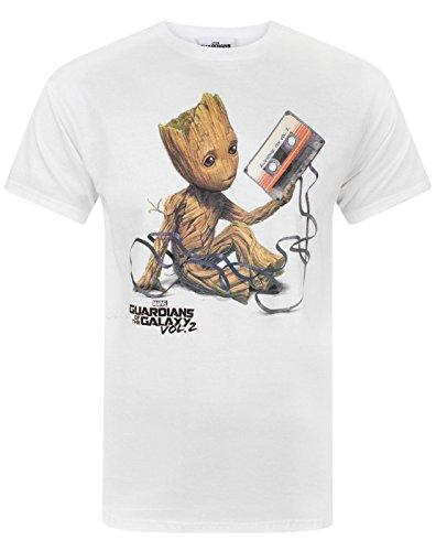Guardians of the Galaxy Vol 2 Groot Tape Men's T-Shirt