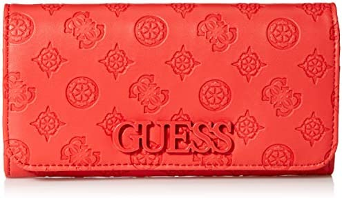 GUESS Kamryn Peony Large Flap Organizer Wallet, Poppy: Buy