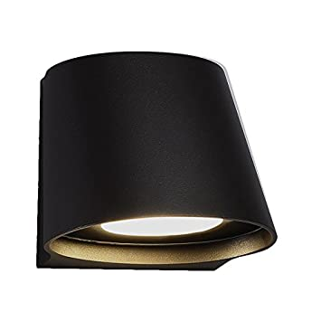 WAC Lighting WS W65607 BZ Contemporary Mod Led Outdoor Wall Light In Bronze,