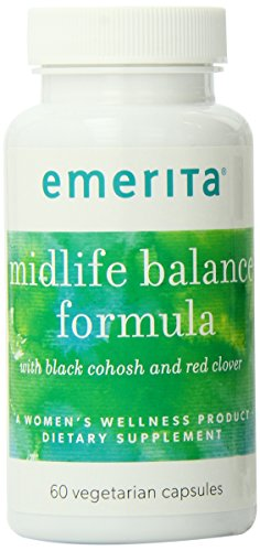 Emerita Midlife Balance Formula Nutritional Supplement, 60 Count