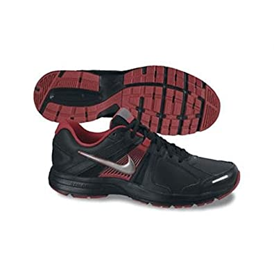 on sale 0dcc9 145b6 Nike Dart 10 Leather Mens Running Shoes, BlackRed, ...