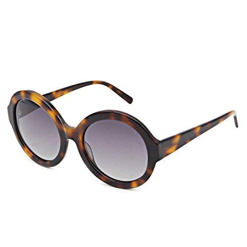 Hourvun Tortoiseshell Women Sunglsses Retro Round Polarized Sunglasses for - Sunglasses Round Tortoiseshell