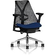 Herman Miller Sayl Task Chair: Tilt Limiter with Seat Angle Adjustment - Adj Lumbar Support - Adj Seat Depth -...