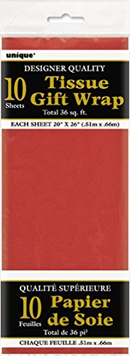 Red Tissue Paper Sheets 10ct
