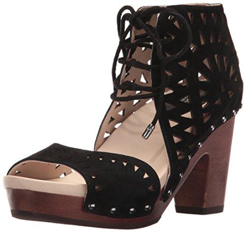 Jambu Femmes Simone Plate-forme Robe Sandale Noir