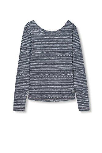 edc by Esprit, Camisa para Mujer Multicolor (navy 400)