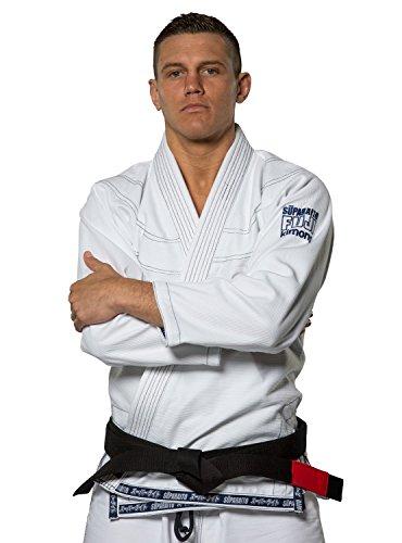 Fuji Suparaito BJJ GI Martial Arts Uniform, White, A4