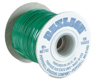 Lace Plastic Rexlace Lacing - Pepperell Rexlace Plastic Lacing .0938