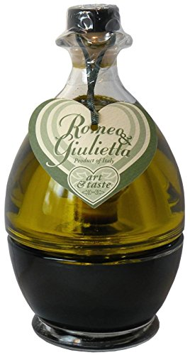 Mantova Romeo & Giulietta Balsamic Vinegar & Extra Virgin Olive Oil, 17-Ounce Bottles (Pack of 2)