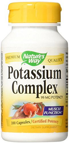 Nature's Way Potassium Complex, 100 Caps