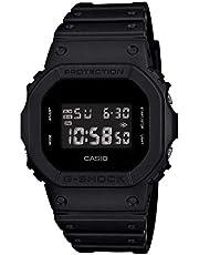 Casio Men's DW5600BB-1 Black Resin Quartz Watch with Digital Dial